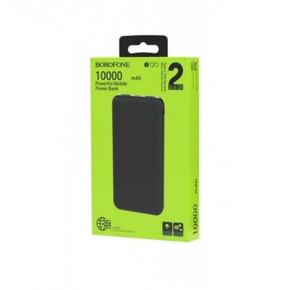 Power Bank Borofone 10000mAh BT20 (черный)