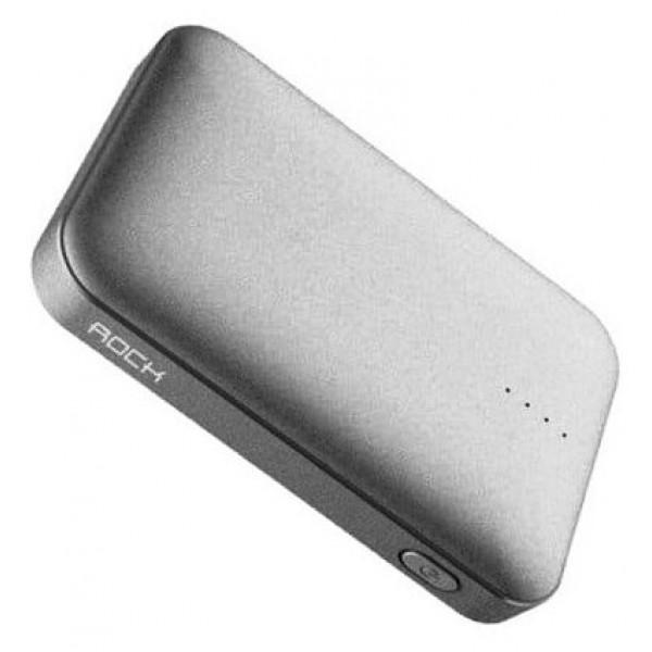 Power Bank Rock P51 Mini 10000mAh (серый)