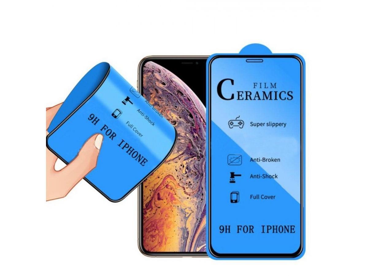 Стекло защитное iPhone X/Xs/11 Pro (Ceramics) в Тюмени