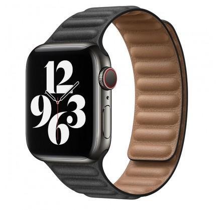 Ремешок кожаный New Apple Watch 42/44 мм на магнитной з...
