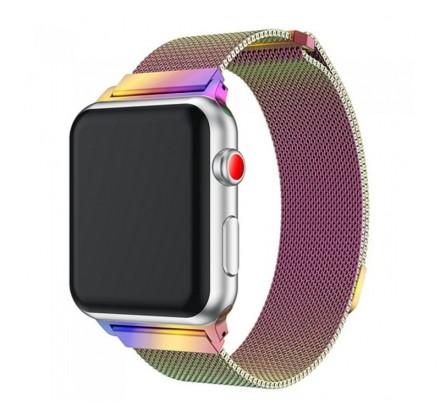 Ремешок миланский браслет Apple Watch 38/40 мм хамелеон
