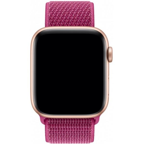 Ремешок спортивный браслет Apple Watch 42/44 малиновый