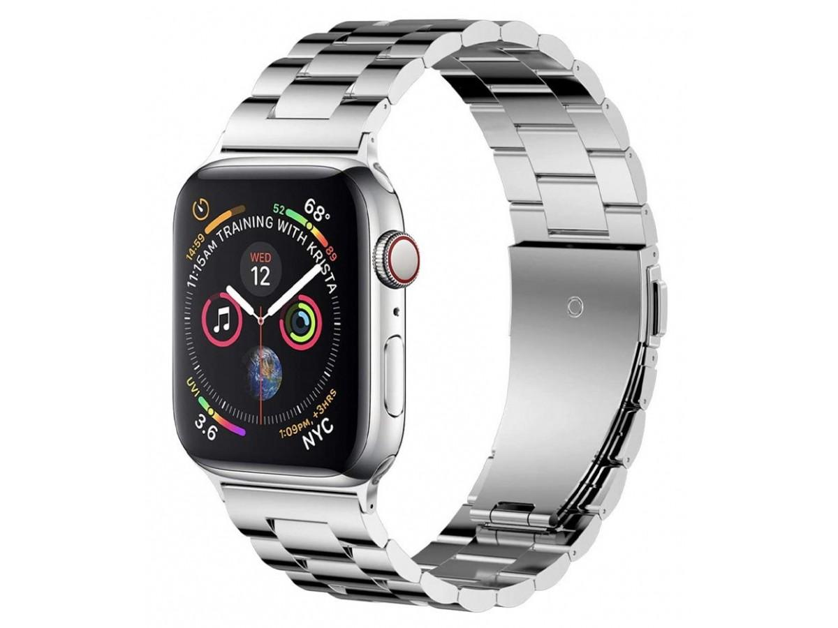 Ремешок Classic Metal для Apple Watch 38/40 мм серебро в Тюмени
