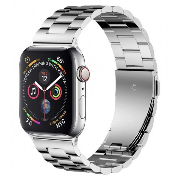 Ремешок Classic Metal для Apple Watch 38/40 мм серебро