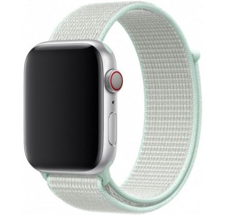 Ремешок спортивный браслет Apple Watch 42/44 мм мятный