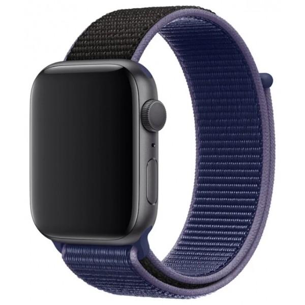 Ремешок спортивный браслет Apple Watch 42/44 мм фиолетовый