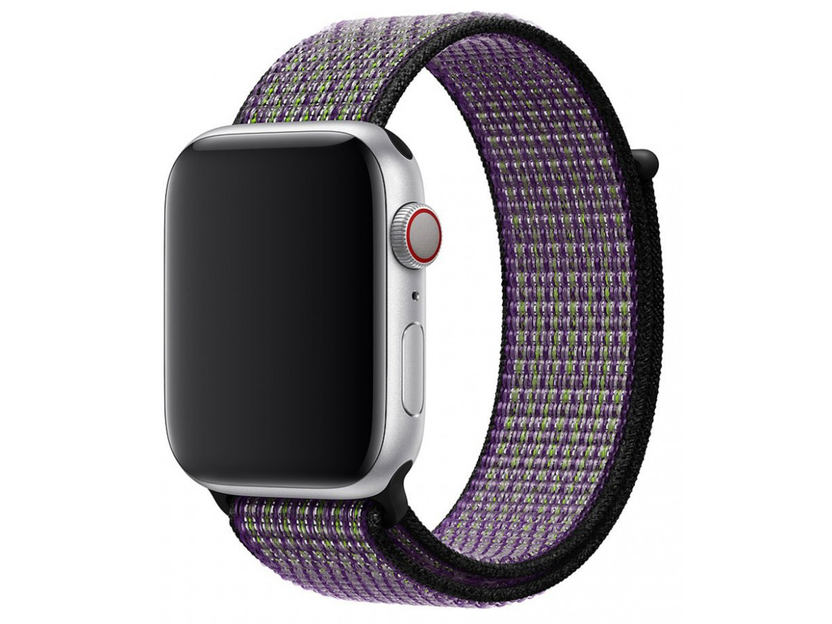 Ремешок спортивный браслет Apple Watch 38/40 мм киви в Тюмени