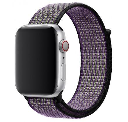 Ремешок спортивный браслет Apple Watch 42/44 мм киви