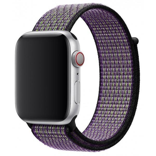 Ремешок спортивный браслет Apple Watch 38/40 мм киви