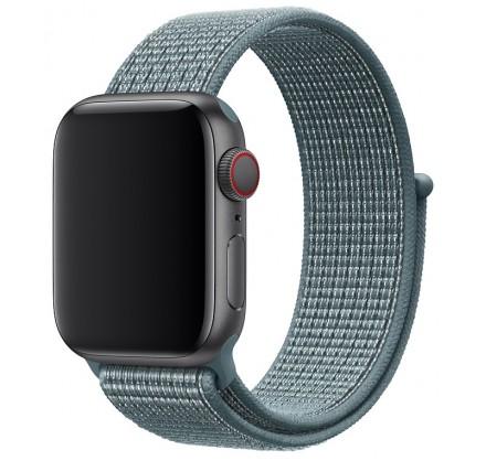 Ремешок спортивный браслет Apple Watch 42/44 мм сине-зе...