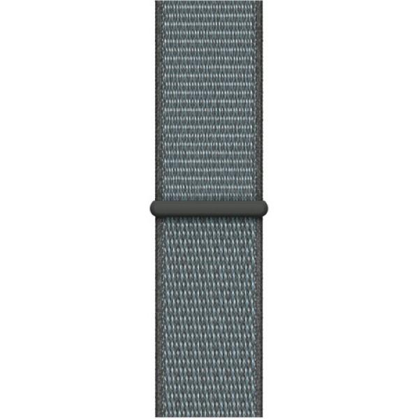 Ремешок спортивный браслет Apple Watch 38/40 мм индиго