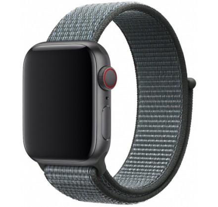 Ремешок спортивный браслет Apple Watch 42/44 индиго