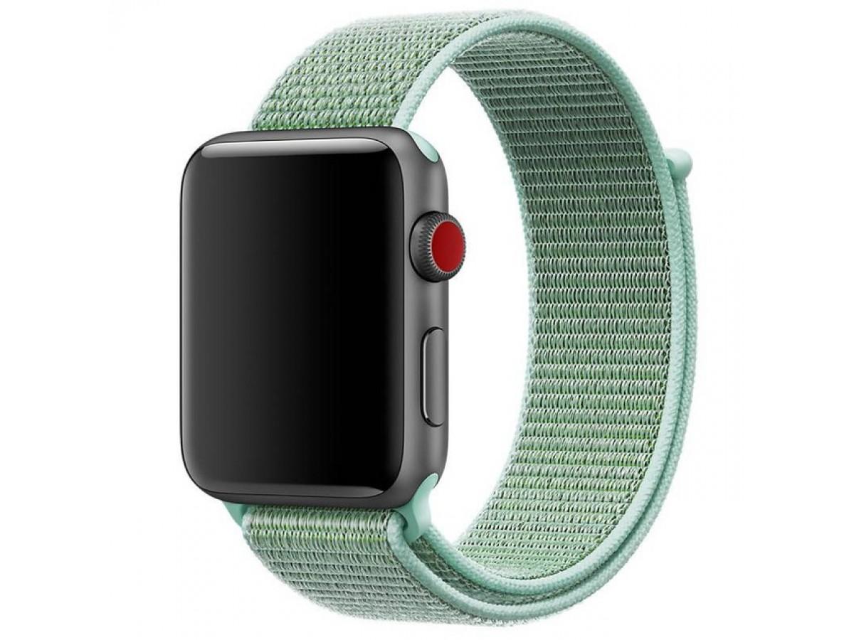 Браслет Apple Watch 38/40мм Спортивная петля (Бирюзовый) в Тюмени
