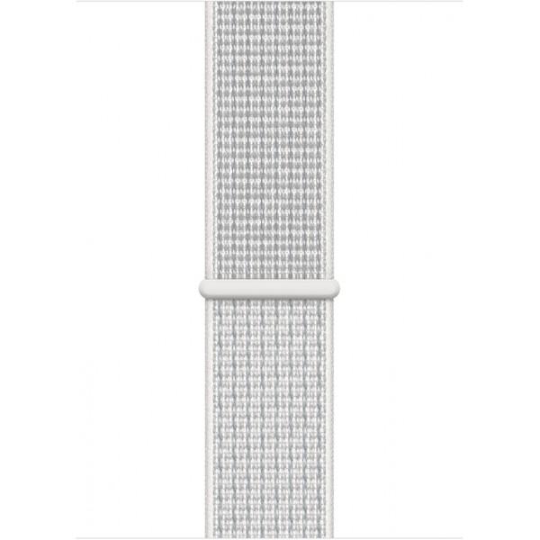Браслет Apple Watch 38/40мм Спортивная петля (Белый)