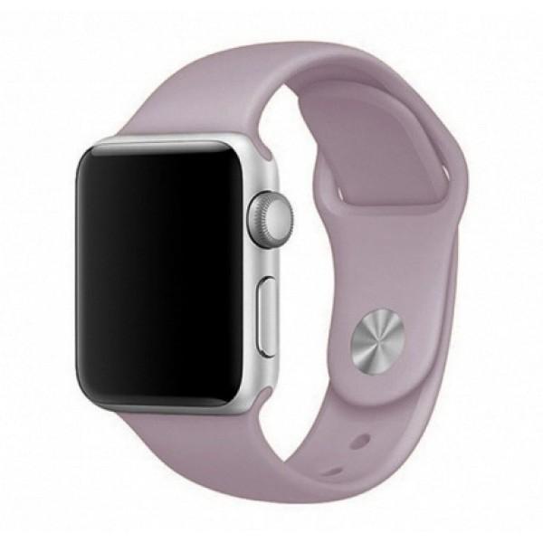 Силиконовый ремешок Apple Watch 42/44мм лавандовый