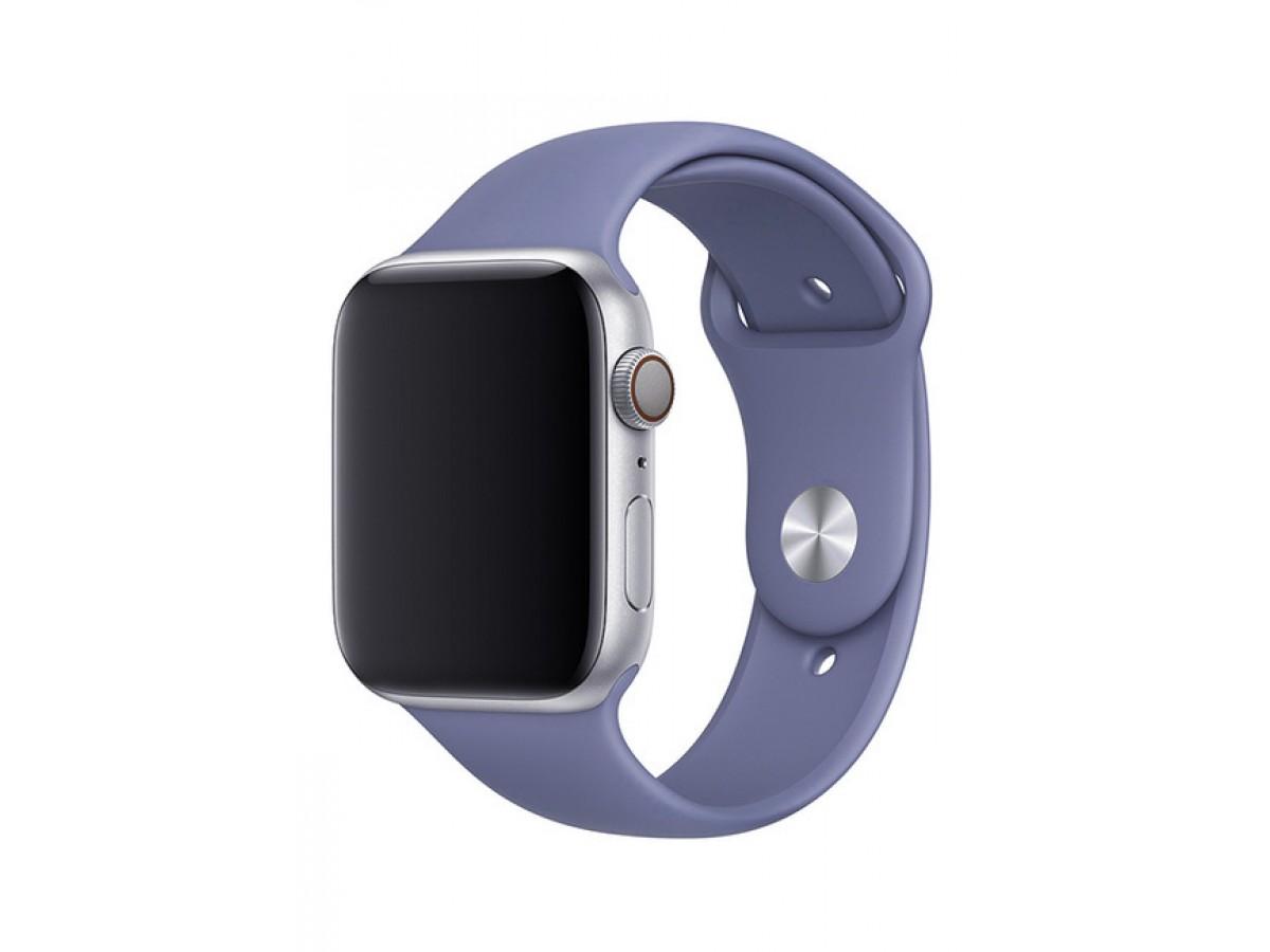 Силиконовый ремешок Apple Watch 38/40мм Темно-Лавандовый в Тюмени