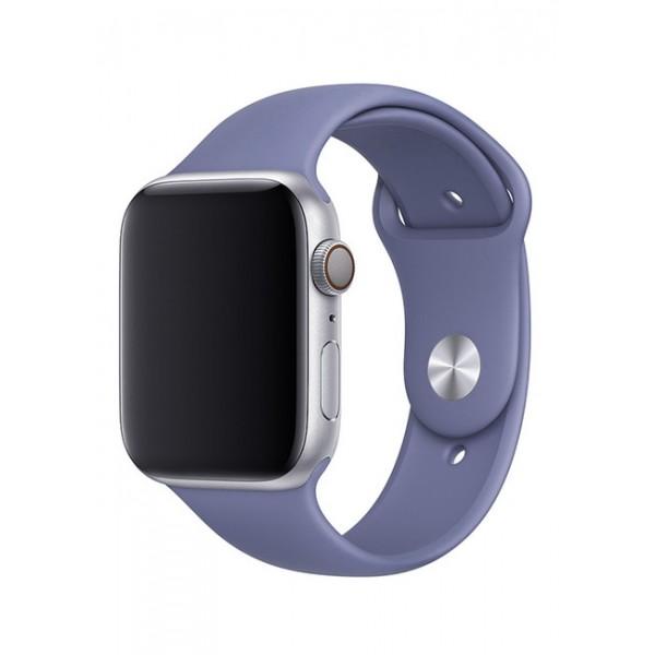 Силиконовый ремешок Apple Watch 38/40мм Темно-Лавандовый