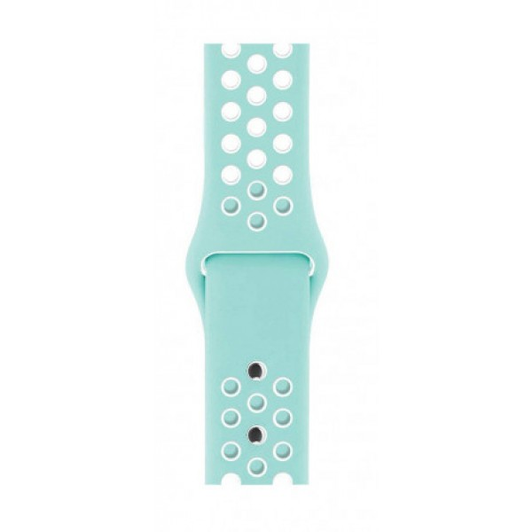 Силиконовый ремешок Apple Watch Nike 42/44мм бирюзовый