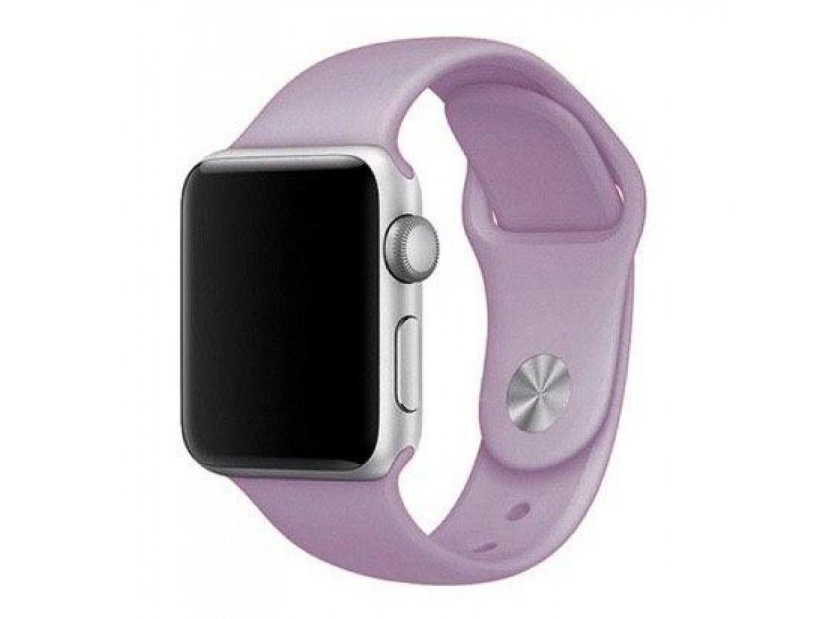 Силиконовый ремешок Apple Watch 38/40мм Пурпурный в Тюмени