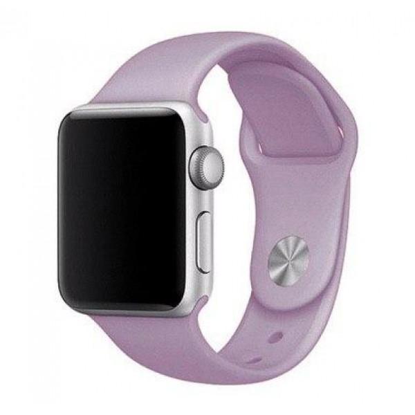 Силиконовый ремешок Apple Watch 38/40мм Пурпурный