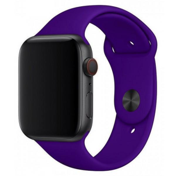 Силиконовый ремешок Apple Watch 38/40мм фиолетовый