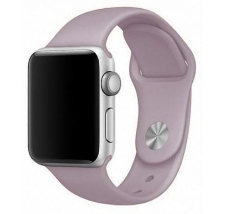 Силиконовый ремешок Apple Watch 38/40мм лавандовый