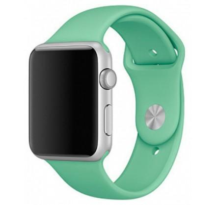 Силиконовый ремешок Apple Watch 38/40мм мятный