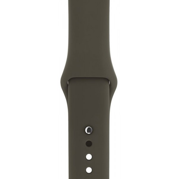 Силиконовый ремешок Apple Watch 38/40мм оливковый