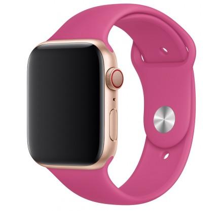 Силиконовый ремешок Apple Watch 38/40мм питайя