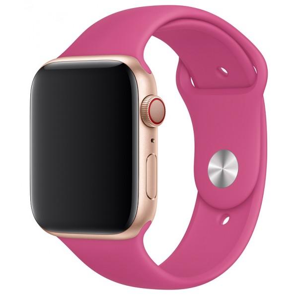 Силиконовый ремешок Apple Watch 42/44мм питайя