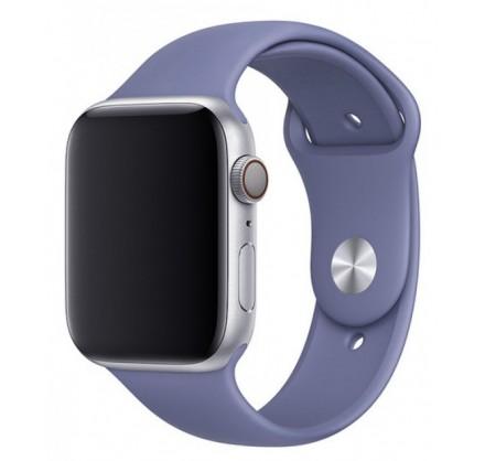 Силиконовый ремешок Apple Watch 38/40мм темно-лавандовы...