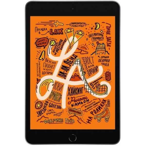 Apple iPad Mini 4 Wi-Fi + Cellular  128GB (серый космос)