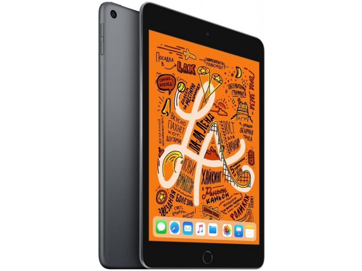 Apple iPad Mini 4 Wi-Fi + Cellular  128GB (серый космос) в Тюмени