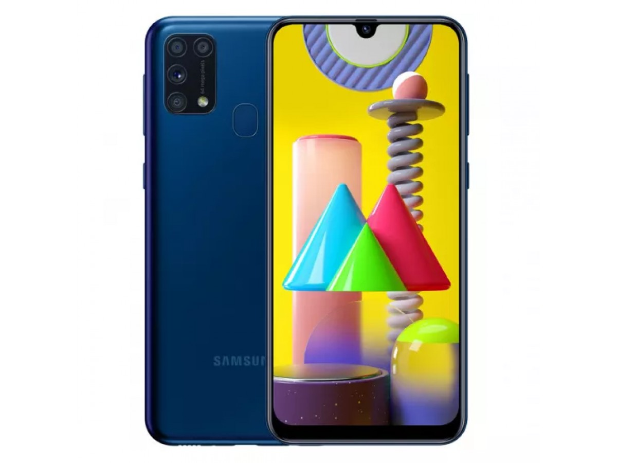 Samsung Galaxy M31 128GB Синий в Тюмени