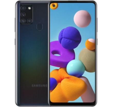 Samsung Galaxy A21s 64GB Черный