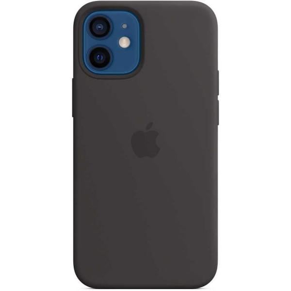 Чехол Silicone Case качество Lux для iPhone 12 mini черный