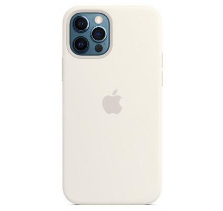 Чехол Silicone Case качество Lux iPhone 12 Pro Max белы...