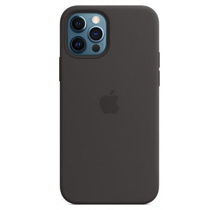 Чехол Silicone Case качество Lux iPhone 12 Pro Max черн...