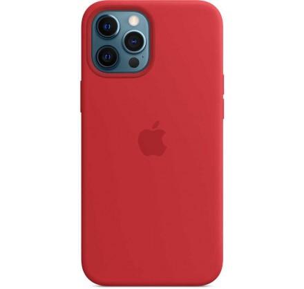 Чехол Silicone Case качество Lux iPhone 12 Pro Max крас...