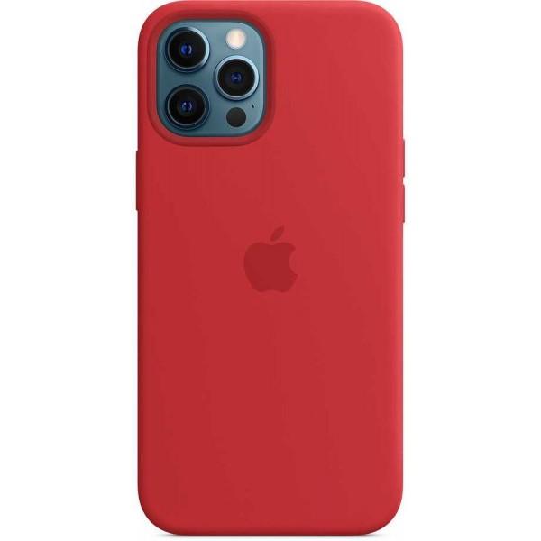 Чехол Silicone Case качество Lux для iPhone 12 Pro Max красный