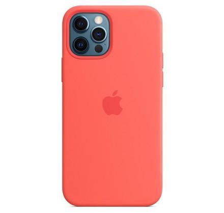 Чехол Silicone Case качество Lux iPhone 12 Pro Max розо...