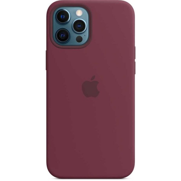 Чехол Silicone Case качество Lux для iPhone 12 Pro Max сливовый