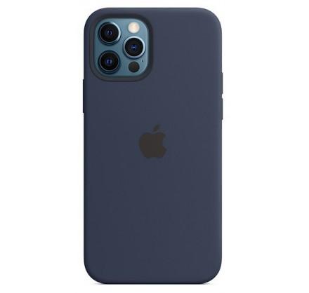 Чехол Silicone Case качество Lux iPhone 12 Pro Max темн...