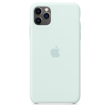 Чехол silicone case iphone 11 pro морская пена