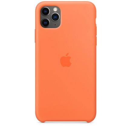 Чехол Silicone Case качество Lux для iPhone 11 Pro оран...