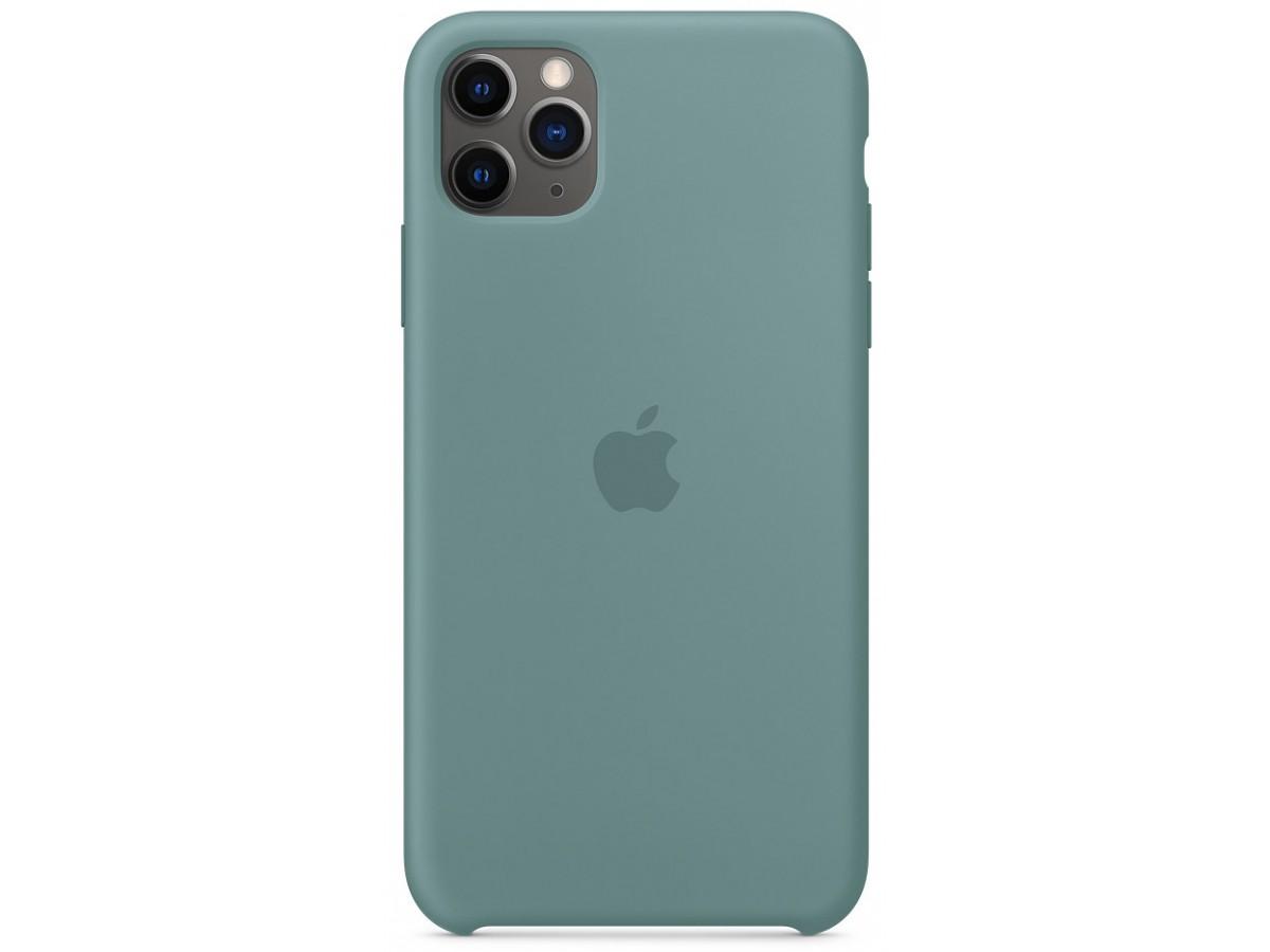 Чехол Silicone Case iPhone 11 Pro Max дикий кактус в Тюмени