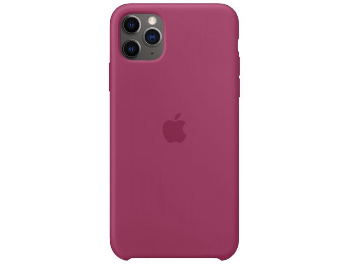 Чехол Silicone Case iPhone 11 Pro сочный гранат в Тюмени