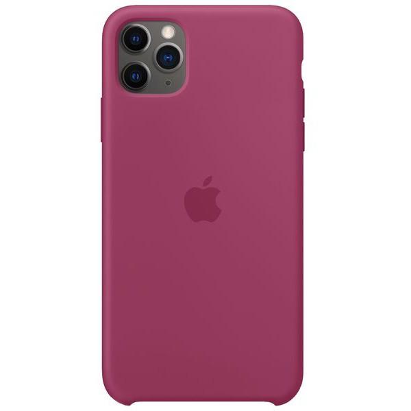 Чехол Silicone Case iPhone 11 Pro сочный гранат