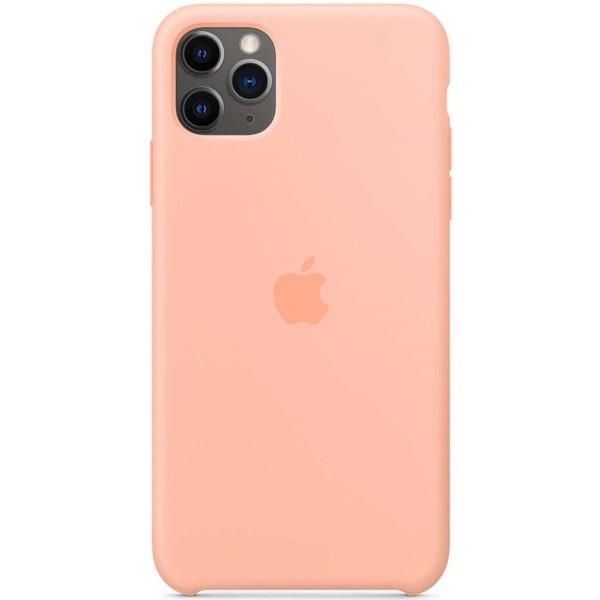 Чехол Silicone Case качество Lux для iPhone 11 Pro розовый грейпфрут