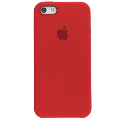 Чехол Silicone Case для iPhone 5/5s/SE красный